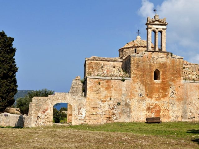 The Church of the Transfiguration, the citadel of Pylos
